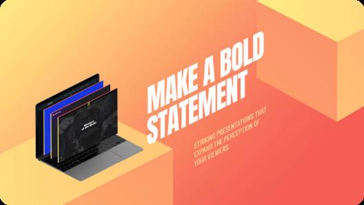 bold statement slider revolution