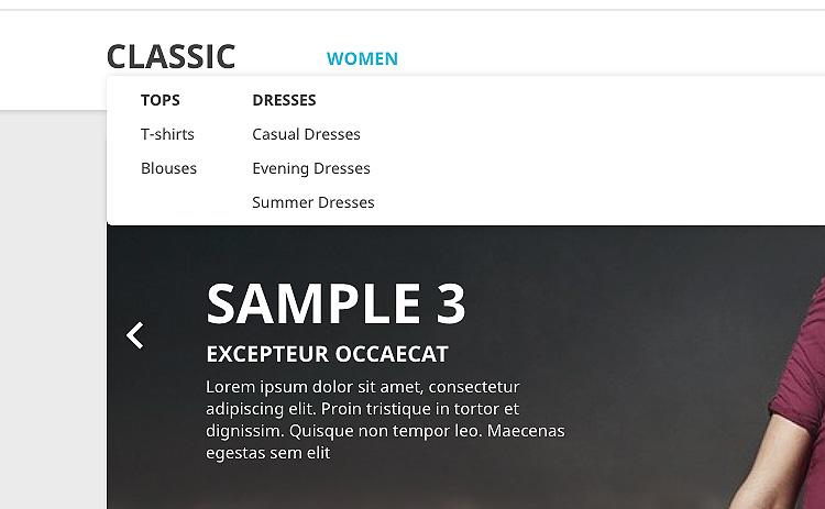 default-menu