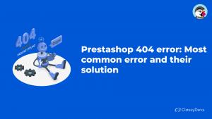 Prestashop 404 error