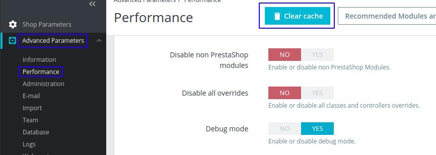 SSL on Prestashop