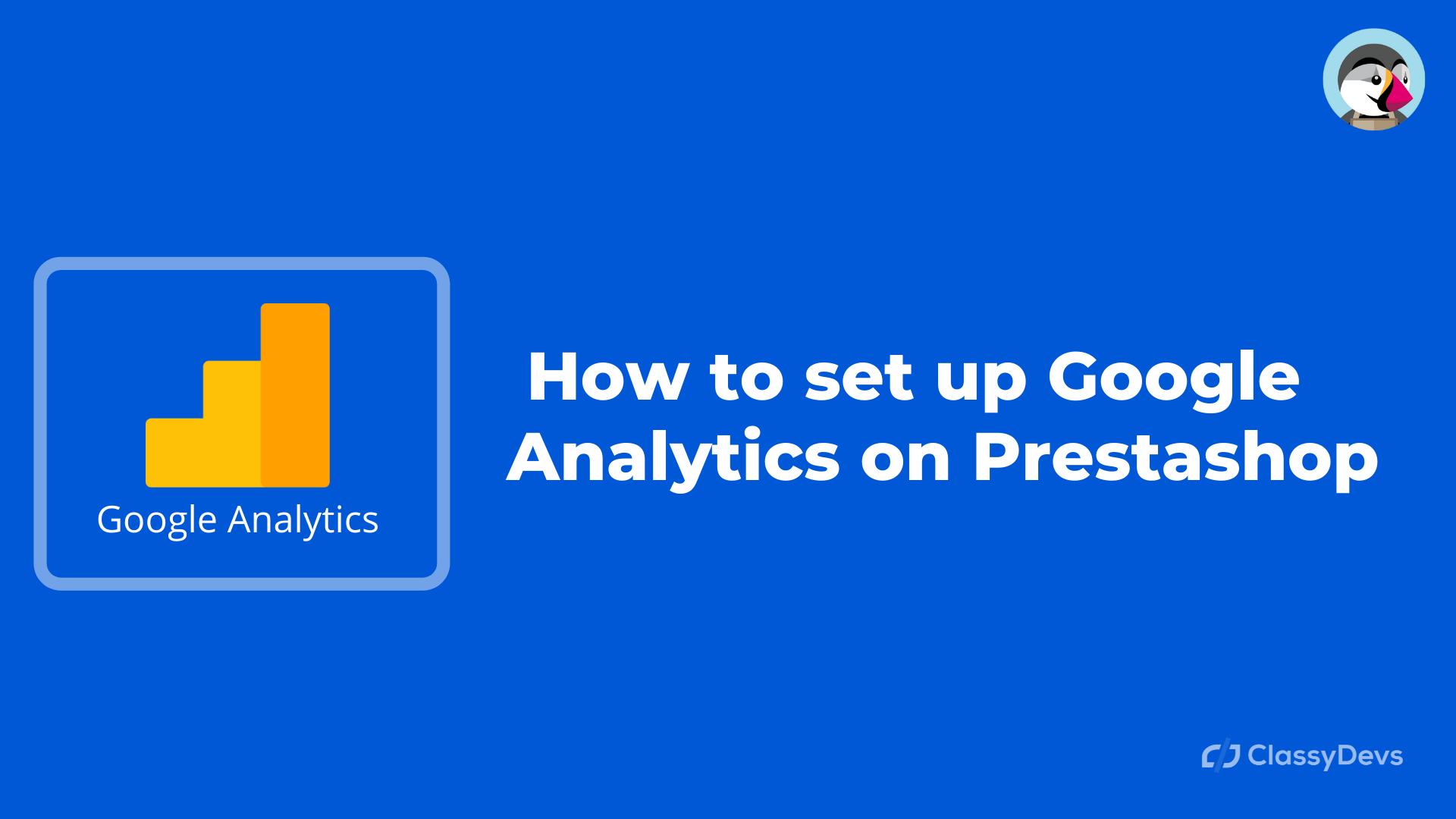 Google Analytics on Prestashop